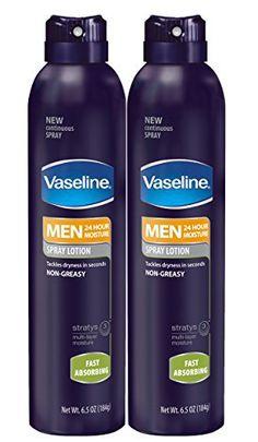 Vaseline Men Spray Lotion, Fast Absorbing 6.5 oz, Twin Pack - http://www.theperfume.org/vaseline-men-spray-lotion-fast-absorbing-6-5-oz-twin-pack/