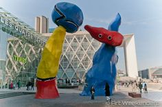 Guillaume Bottazzi - Paris' La Defense District The Home to the Largest Open-Air Contemporary Art Space in France As soon as we step out of the metro into the bright sunlight La Grande Arche is rising in front of us. The structure measuring 110 meters...