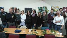 Floral Art Seminars SANKA   Wire Techniques Dimitris Papadakis   Floral Crowns -Boutonieres