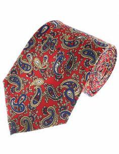 FLATSEVEN Mens Classic Paisley Pattern Designer Neck Tie FLATSEVEN, http://www.amazon.co.uk/dp/B00KRBNR5M/ref=cm_sw_r_pi_dp_pevOtb1RQZF7Z