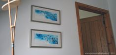 My #artwork on display in an interior.