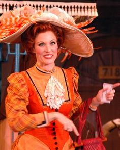 Rachel York as Dolly Levi. See HELLO, DOLLY! live on stage with Music Circus at the Wells Fargo Pavilion JUNE 28-JULY 3, 2016. TICKETS: http://www.californiamusicaltheatre.com/events/hello-dolly-2016/