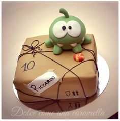 'Cut the Rope' Cake