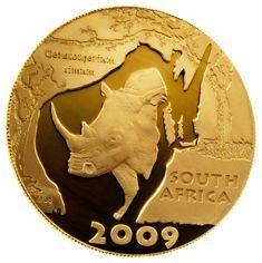 Mandela Palladium Endangered Species Set Coin Jewelry, Endangered Species, Precious Metals, Coins, Personalized Items, Silver, Gold, Rooms, Yellow