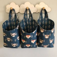Excited to share this item from my shop: Woodland Nursery Décor-Woodland Storage Pods-Nursery Storage-Fabric Storage Bin-Baby Storage Baskets-Woodland Animals-Navy Blue Nursery Woodland Nursery Prints, Woodland Animal Nursery, Woodland Animals, Woodland Bedroom, Forest Nursery, Woodland Decor, Baby Storage Baskets, Fabric Storage Bins, Fabric Boxes