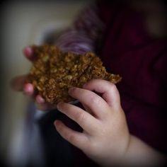 Biscuits délicieux avoine, miel et coco sans lait ni oeufs inspirés des Anzacs, avec fiche recette imprimable
