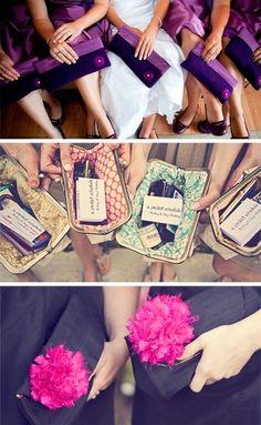 Bridesmaid's Clutches.