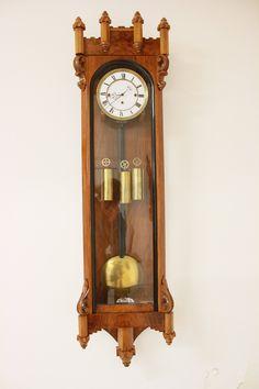 Old Clocks, Antique Clocks, Pendulum Wall Clock, Clock Shop, Time Stood Still, Vintage Furniture, Antiques, Modern, Antique Wall Clocks