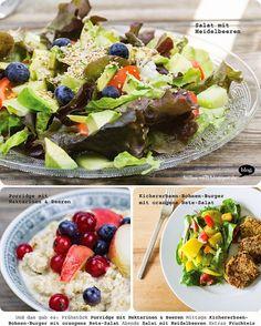 Das bunte Gesamtbild von Billa's Vegan Wednesday #104 - einfach zum Anbeißen!