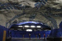 stacja T-Centralen w Sztokholmie