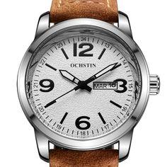 #Spring #AdoreWe #BangGood - #OCHSTIN OCHSTIN GQ047B  Fashion Men Quartz Watch Casual Leather Strap Sport Watch - AdoreWe.com