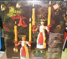 GOLDEN GLOW OF CHRISTMAS (JC PENNEY 1972) C 10925 NM/G VINYL LP RECORD #RH04 #Christmas