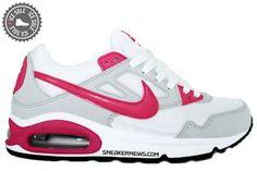 Nike Womens Air Max Skyline   White   Vivid Pink