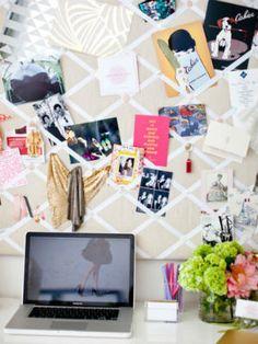 Ribbon Board Inspiration- Office Decor Ideas