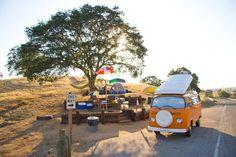 van-life:  Model: 1973 VW Camper WestfaliaLocation: Central California, 2006Photo: pedropierre.com