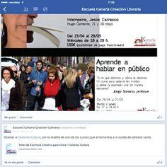Escuela Canaria Creación Literaria
