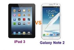 The Apple iPad 3 vs Samsung Galaxy Note 2 are two amazing smartphones of the two company having rich specifications in every department. Find out more on their comparison.