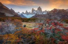 Autumn in my heart Mt. Fitz roy by GoalKw-graphicstyle