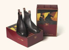 R M Williams boots. I wear them every day and average five to seven years out of them. I only have one pair at a time! Moderately expensive to buy. Cheap to own! Your feet will love you. Made in Australia.