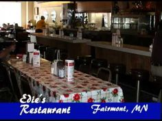 Fairmont Minnesota, Edie's Cafe on Our Story's What's Cooking #17
