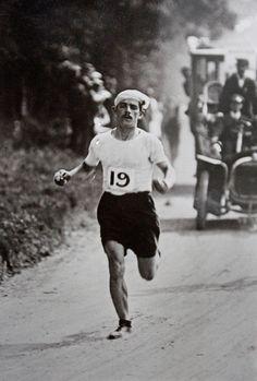 Giochi Olimpici di Londra 1908. 24 luglio, Maratona. Dorando Pietri (1885-1942)