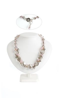 Single-Strand Necklace with SWAROVSKI ELEMENTS - Fire Mountain Gems and Beads