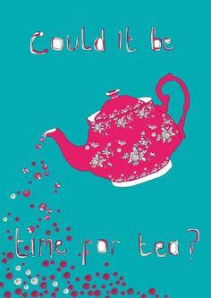 Tea-print :-)