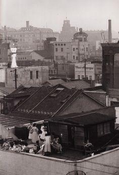 Ginza, Tokyo (Kimura Ihee,1954) やすなお100+