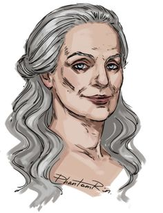 """Revered Mother Drusilla (""""Nevernight"""" by Jay Kristoff)  One hell of a granny:))"""