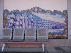 Painel de Azulejos: Aqueduto da Amoreira - Elvas   Flickr – Compartilhamento de fotos!