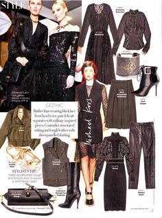 Harper's Bazaar features Crow's Nest