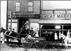 Bartell Drugs began in Seattle in 1890. A flickr find.