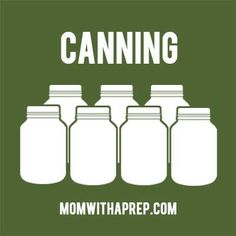 how to can, canning, pressure canning, water bath canning, canning jam, canning tomatoes, food storage, meals in jars, canning chicken, canning meat. Check my other boards for more emergency preparedness and homesteading information. /// Get the Mom with a PREP newsletter here >> http://eepurl.com/Qjzmv <<