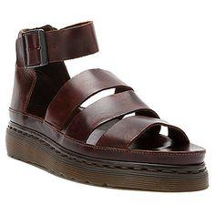 Chunky strap sandal Dr. Martens, Clarissa charro brando Knöchelriemen  Schuhe, Sandalen Mit Knöchelriemchen a90dc5ff8b