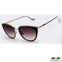 Fly Sunnies v.34 | Metal Frame Cat Eye Sunglasses  $24.99  https://theflysociety.co/collections/sunglasses