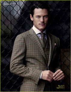 Just what a man should be....I love Luke Evans <3