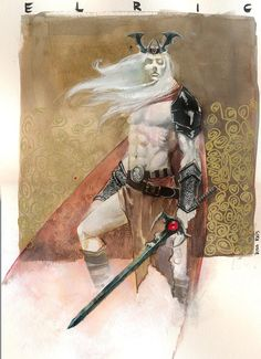 Elric Pre-NYCC commission by RodReis