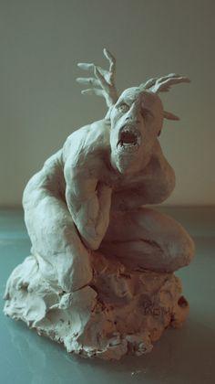 my Sculptures by remi gamiette, via Behance