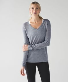 Layer on this lightweight sweater when you want to let the breeze flow in Yin class.