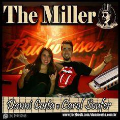SEXTA FEIRA (11/12) é noite de música ao vivo com Danni Costa e Carol Soufer no The Miller Pub a partir das 21h. . Rua Dr. Miguel Couto, 220, Jardim Amália, Volta Redonda/RJ, sob nova...