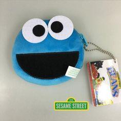 Sesame Street ELMO BIG BIRD COOKIE MONSTER ERNIE Coin Purse Unisex Wallet Multi-functional Kawaii Bag Anime Plush Toys