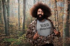 New work: Matthias Clamer's portraits of eccentric comedian/musician Reggie Watts Reggie Watts, Eccentric, New Work, Portrait, Photography, Photograph, Headshot Photography, Fotografie, Portrait Paintings