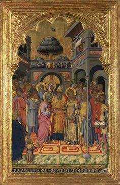 Niccolo di Buonaccorso. Marriage of the Virgin.1380. London NG.jpg