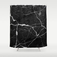 Black Suede, Black Silver, Black And White, Monochrome Photography, Bathroom Shower Curtains, Lightning, Hooks, Crisp, Marble