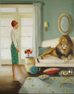 the House Guest by Janet Hill
