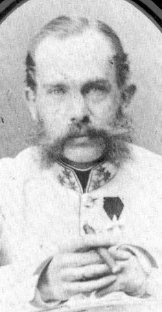 Emperor Franz Joseph, picture dated in 1859/1860