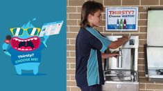 Find out what is helping Kariong Mountains High School choose water as the preferred drink at their campus! #CIVIQAu #Elkay #choosewater #fillupyourbottle #keephydrated #waterstation #waterfillingstation #drinkingfountain #drinkwater #water #hydration #keephydrated #schools #students Drinking Fountain, Drinking Water, Mountain High School, Filling Station, School S, Campaign, Students, Mountains, News