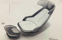 Car Interior Sketch, Car Interior Design, Interior Design Sketches, Industrial Design Sketch, Interior Rendering, Interior Concept, Automotive Design, Transportation Design, Mobile Design