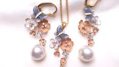 Pearl Jewelry, Pendant Jewelry, Jewelery, Diamond Drop Earrings, Pearl Earrings, Japanese Jewelry, Bridal Earrings, Gold Pearl, 18k Gold
