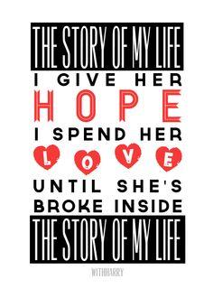 Story Of My Life -- One Direction Lyrics